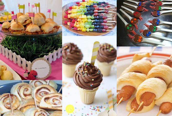 Petiscos ideias para servir em festas infantis portal for Servir comida